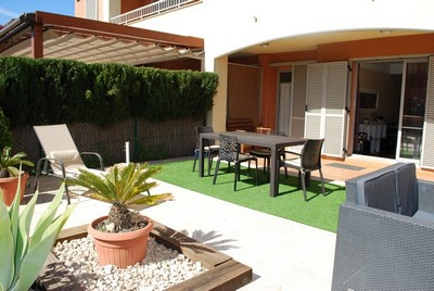 Marina Calafat > apartamentos > APARTAMENTO B1-B6 (2/4 pax) M-33 Marina Sant Jordi