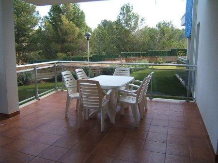 """Marina Calafat > apartments > APARTAMENT BAJOS E """"El Pinar de la Cala"""" (5 pax)"""